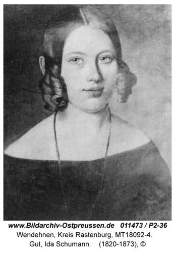 Wendehnen, Gut, Ida Schumann