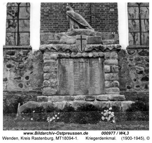 Wenden, Kriegerdenkmal