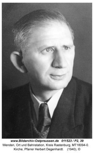 Wenden, Kirche, Pfarrer Herbert Degenhardt