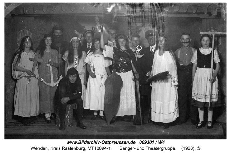 Wenden, Sänger- und Theatergruppe