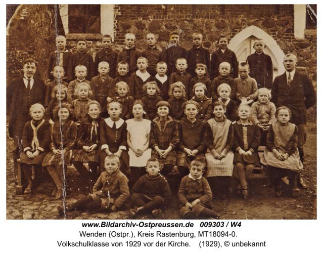 Wenden, Schule, Klasse von 1929