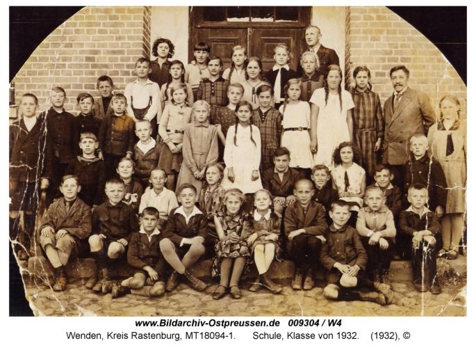 Wenden, Schule, Klasse von 1932
