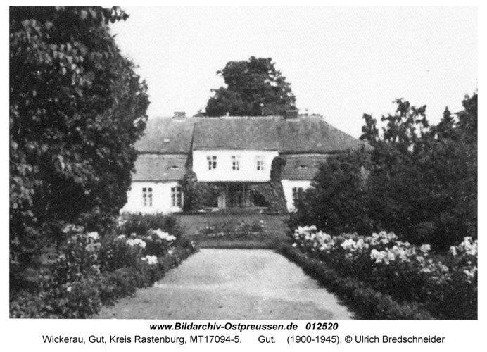 Wickerau, Gutshaus