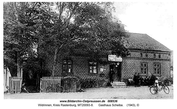 Widrinnen, Gasthaus Scheiba