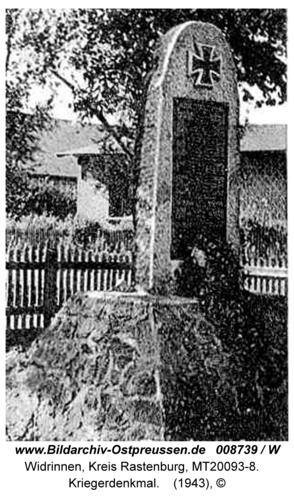 Widrinnen, Kriegerdenkmal