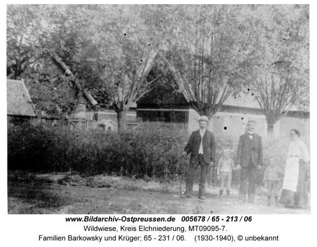 Wildwiese / Oschke, Familien Barkowsky und Krüger; 65 - 231 / 06