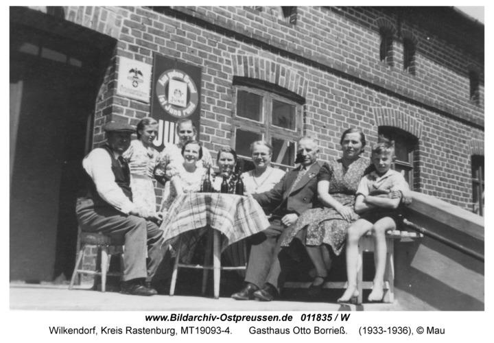 Wilkendorf, Gasthaus Otto Borrieß