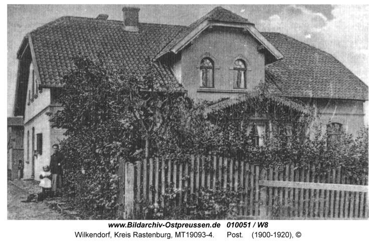 Wilkendorf, Poststation