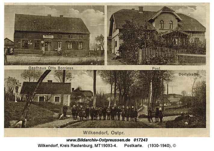Wilkendorf, Postkarte