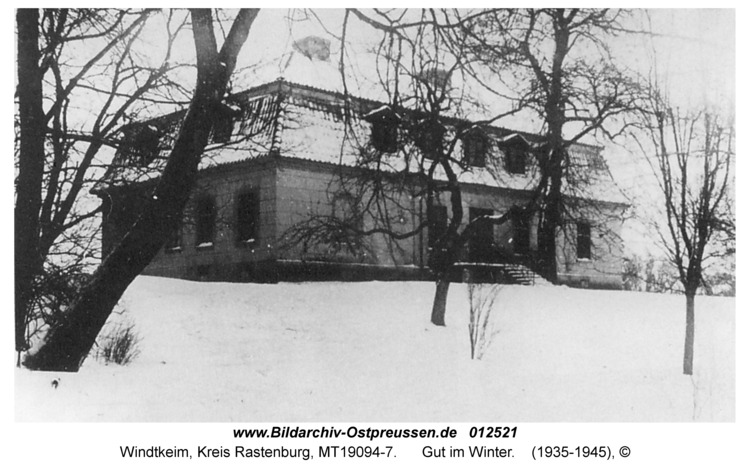 Windtkeim, Gutshaus, Winter