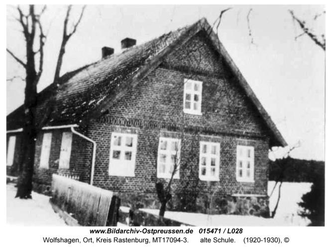 Wolfshagen, alte Schule