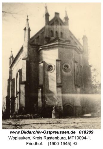 Woplaucken, Friedhof