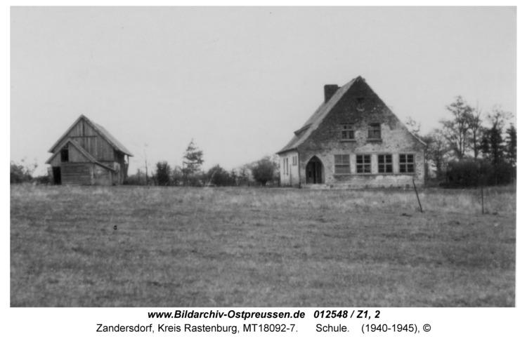 Zandersdorf, Schule