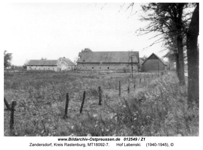 Zandersdorf, Hof Labenski