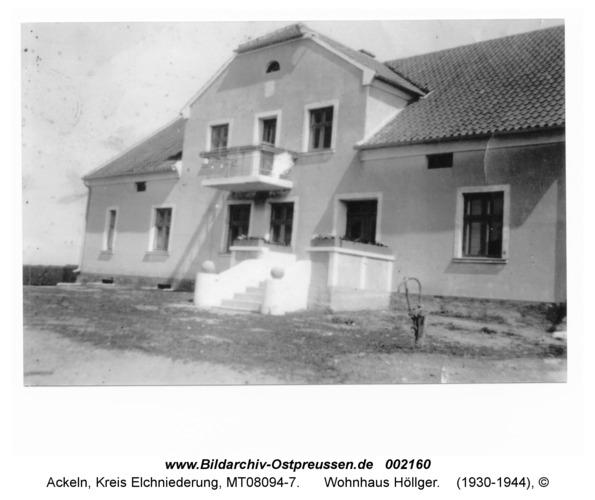 Ackeln, Wohnhaus Höllger