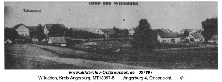 Willudden, Angerburg 4, Ortsansicht