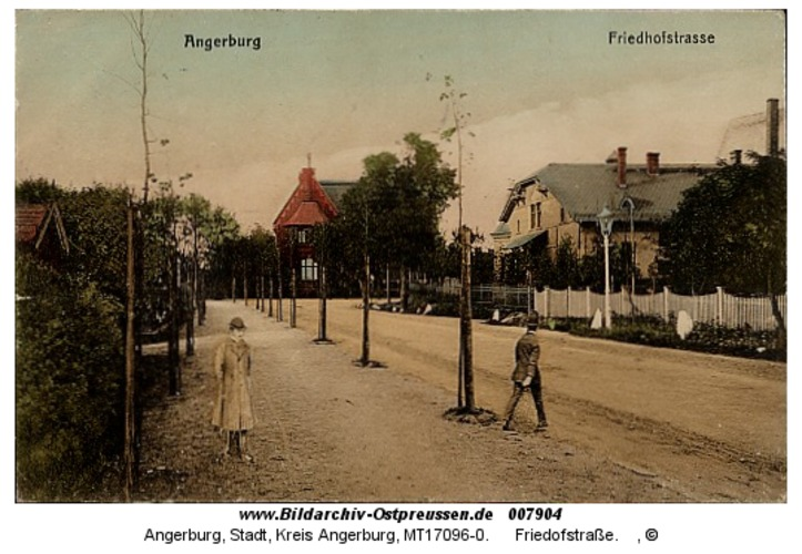 Angerburg 10, Friedofstraße