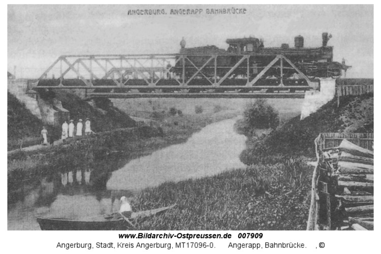 Angerburg 15, Angerapp, Bahnbrücke