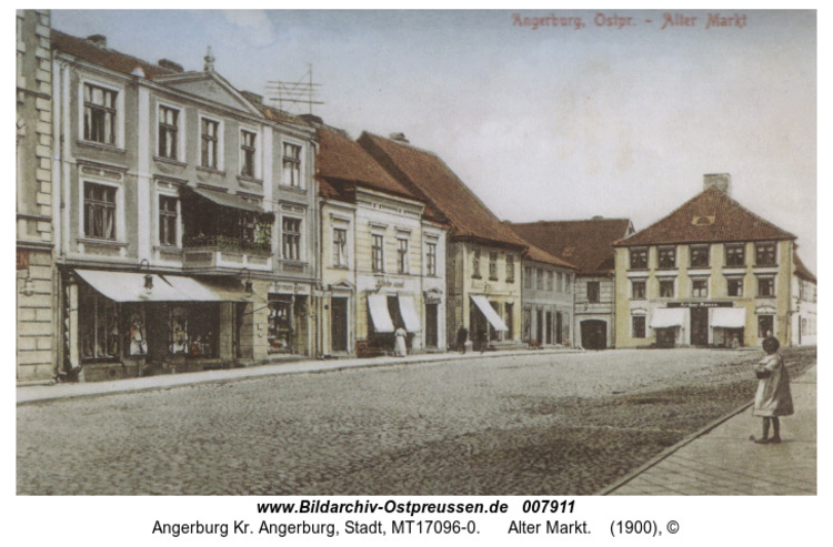 Angerburg, Alter Markt