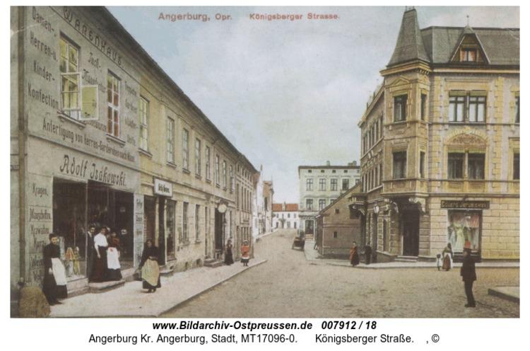 Angerburg, Königsberger Straße