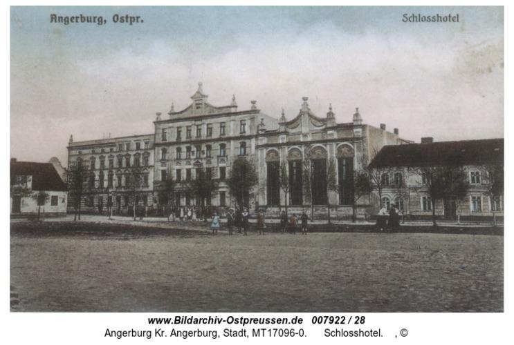 Angerburg, Schlosshotel