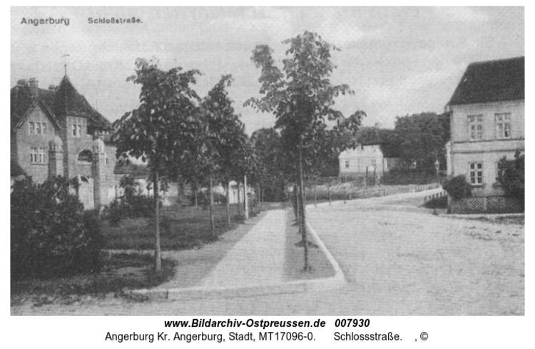Angerburg 36, Schlossstraße