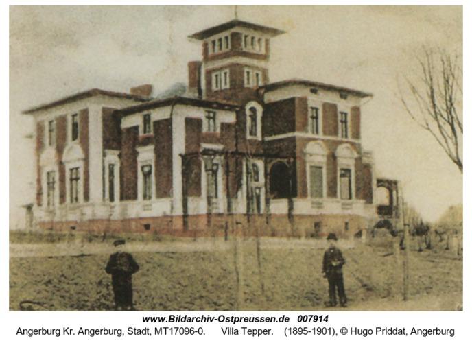 Angerburg, Villa Tepper