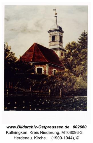 Herdenau. Kirche