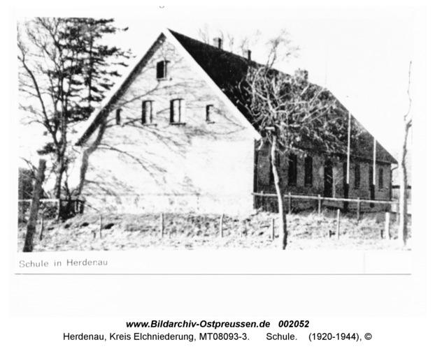 Herdenau, Schule