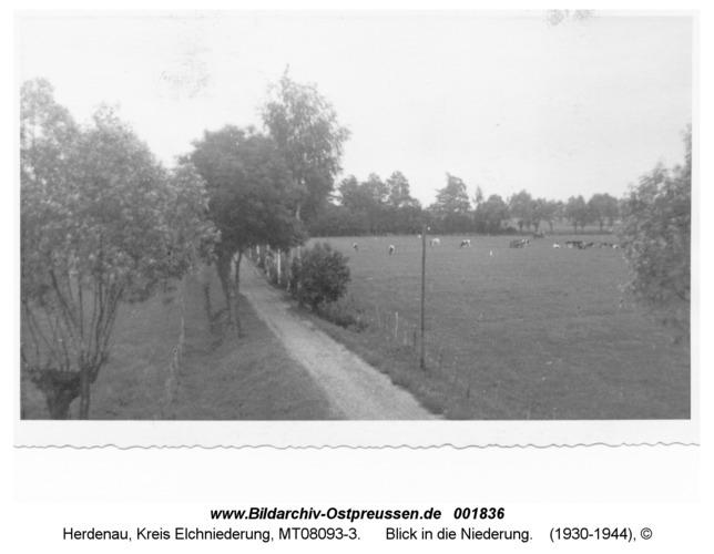Herdenau, Blick in die Niederung