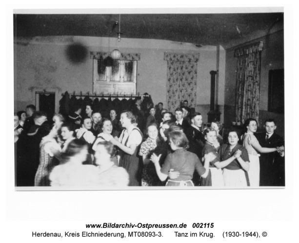 Herdenau, Tanz im Krug