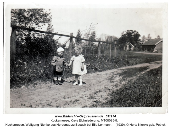 Kuckerneese. Wolfgang Nienke aus Herdenau zu Besuch bei Ella Lehmann