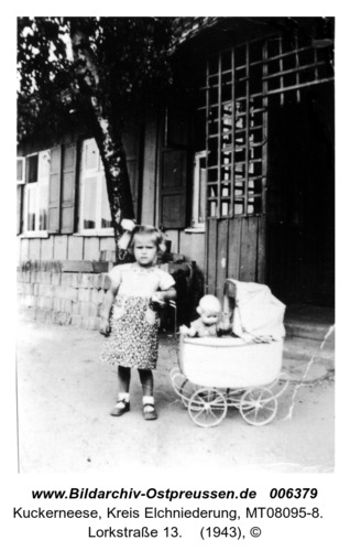 Kuckerneese. Haus von Töpfermeister Kurt und Erna Huwe, Lorkstraße 13