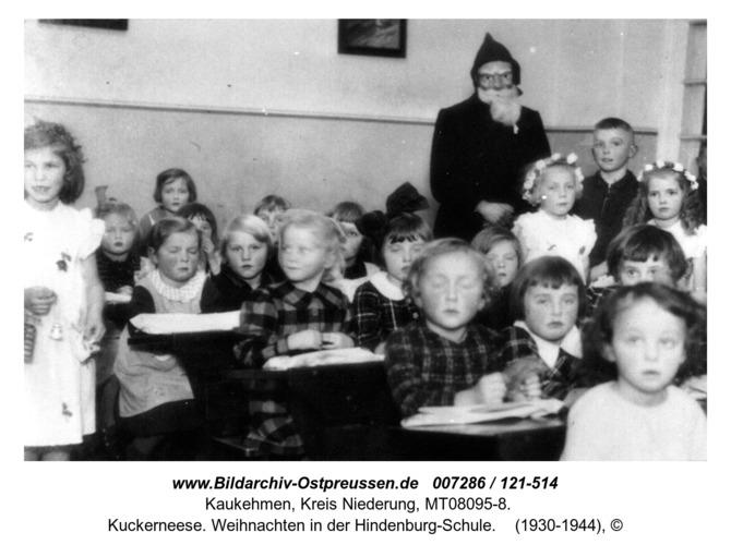 Kuckerneese. Weihnachten in der Hindenburg-Schule