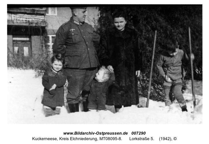 Kuckerneese. Familie Paul und Urte Noetzel, Lorkstraße 5