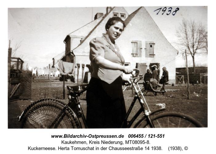 Kuckerneese. Herta Tomuschat in der Chausseestraße 14 1938