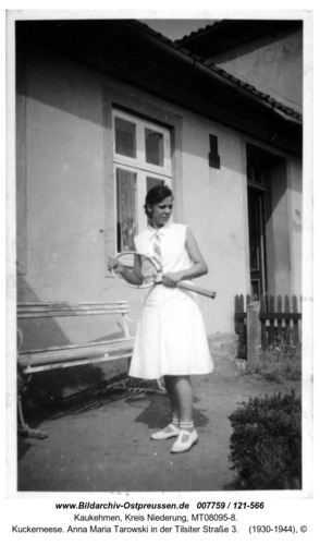 Kuckerneese. Anna Maria Tarowski in der Tilsiter Straße 3
