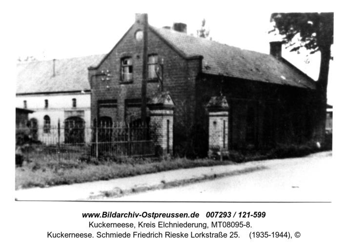 Kuckerneese. Schmiede Friedrich Rieske Lorkstraße 25