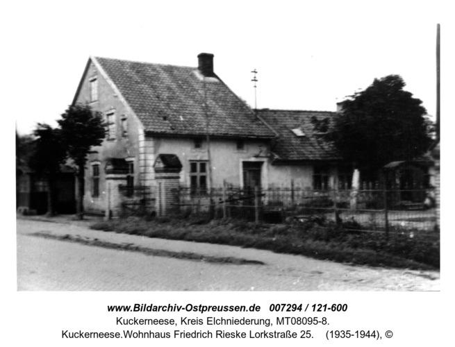Kuckerneese.Wohnhaus Friedrich Rieske Lorkstraße 25