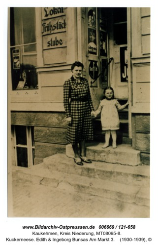 Kuckerneese. Edith & Ingeborg Bunsas Am Markt 3