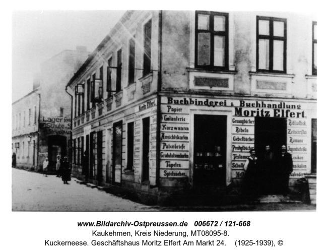 Kuckerneese. Geschäftshaus Moritz Elfert Am Markt 24