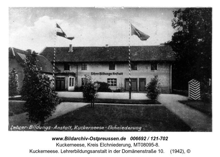 Kuckerneese. Lehrerbildungsanstalt in der Domänenstraße 10
