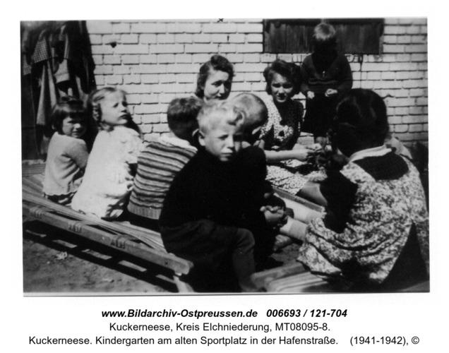 Kuckerneese. Kindergarten am alten Sportplatz in der Hafenstraße