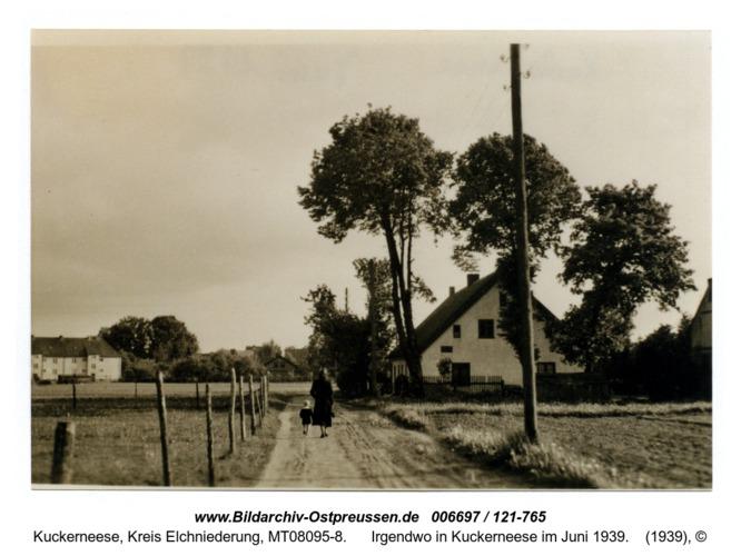 Irgendwo in Kuckerneese im Juni 1939