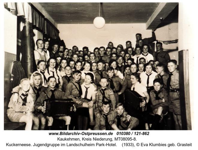 Kuckerneese. Jugendgruppe im Landschulheim Park-Hotel