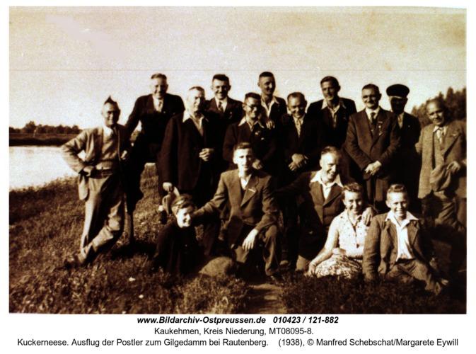 Kuckerneese. Ausflug der Postler zum Gilgedamm bei Rautenberg