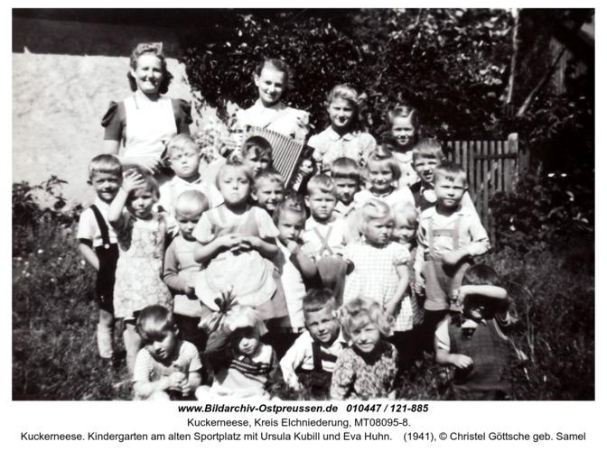 Kuckerneese. Kindergarten am alten Sportplatz mit Ursula Kubill und Eva Huhn