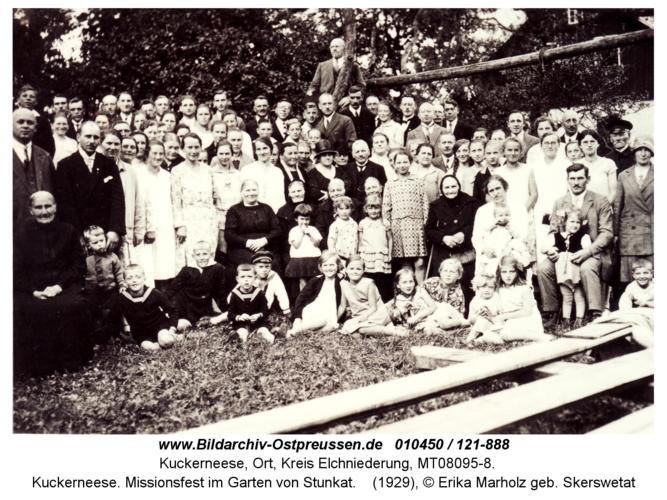 Kuckerneese. Missionsfest im Garten von Stunkat