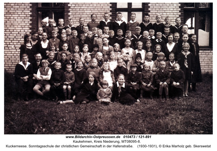 Kuckerneese. Sonntagsschule der christlichen Gemeinschaft in der Hafenstraße