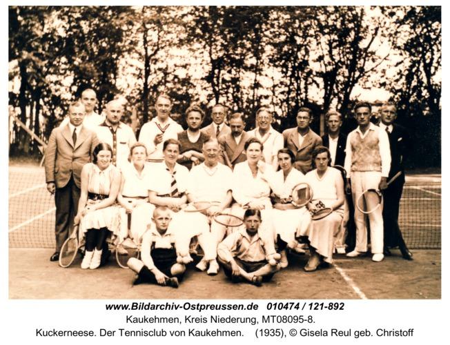 Kuckerneese. Der Tennisclub von Kaukehmen